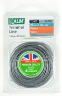 ALM Trimmer Line - Grey - 1.5mm x 25m